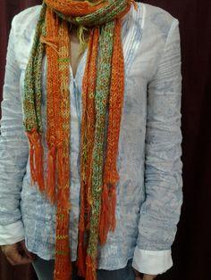 Bufandas múltiples de hilo