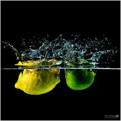 Lee Pelling Photography: Lemon and Lime Splash Photography