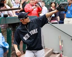 2012-07-23 Ichiro makes Yankees debut against former teammates.  Ichiro Suzuki is batting eighth and playing right field in his Yankees debut, and Hiroki Kuroda is on the mound in the opener of a three-game series against the Mariners.