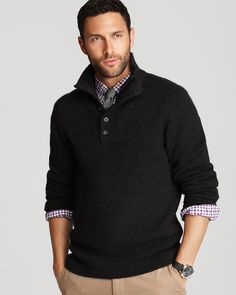 Mens Iconic Quarter Zip Pullover Mens Sweaters Abercrombie Com