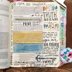 For to the one who has more will be given and he will have an abundance but from the one who has not even what he has will be taken away.- Matthew 13:12... Desire truth!  #praisethelord #heisgood #biblejournaling #biblejournalingcommunity #journalingbible #illustratedfaith http://ift.tt/1KAavV3