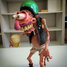 Monstroweirdo Biker by br1monsters.com