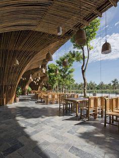 Roc Von Restaurant by Vo Trong Nghia Architects http://www.archello.com/en/project/roc-von-restaurant