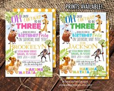 Lion King Party – Building Our Happily Ever After Lion King Party, Lion King Birthday, Third Birthday, 3rd Birthday Parties, Birthday Party Invitations, Birthday Ideas, Birthday Boy Shirts, Happy Birthday Banners, Lion King Cupcakes