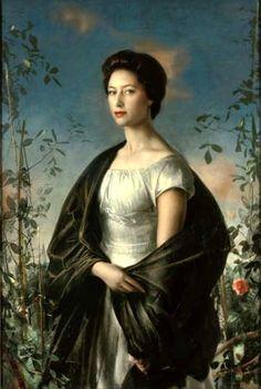 Annigoni, Pietro (1910-1988) - 1957 Portrait of Princess Margaret