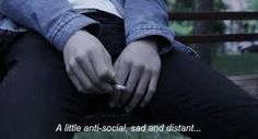 Imagini pentru a little antisocial sad and distant Sad Quotes, Movie Quotes, Grudge Quotes, English, Anti Social, Quote Aesthetic, Aesthetic Pictures, Infp, How I Feel