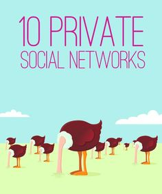 If you are concerned about your privacy on social media, check out these secure networks.