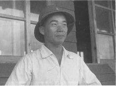 A lovely smiling photo of Saburō Sakai taken early on in the war.