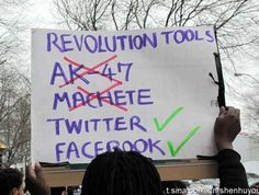 Las armas de la Revolucion. Pero eso si, el #12M15M ¡A TOMAR LA CALLE!