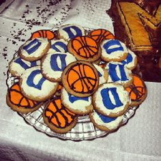 Duke Blue Devil Cookies!!!