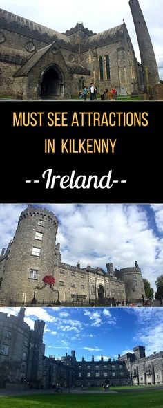 Explore the heart of medieval Ireland in the beautiful city of Kilkenny: stroll along its medieval mile, marvel at its cathedral and imposing castle and celebrate with a pint of local brew.