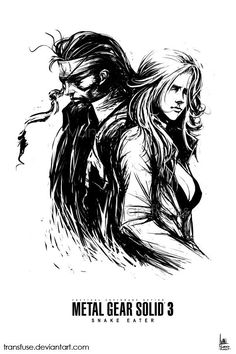 Happy 10th birthday to #MGS3 : Snake Eater