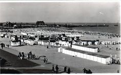 Beach Bathing Huts Gorleston-on-Sea Great Yarmouth, Old Postcards, Norfolk, Bathing, Dolores Park, Sea, History, Summer, Photographs