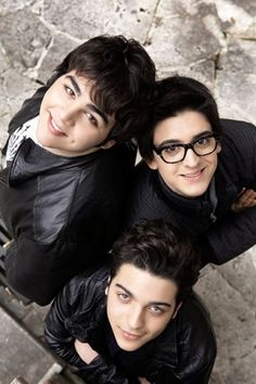 Il Volo - Ignacio, Piero and Gianluca This is adorable