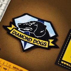 Metal Gear! DIAMOND DOGS #patch #patches #militarypatches #diamonddogs #metalgearsolid #metalgear #toppe #stemmi #lapatcheria