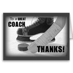 0ee8900f1bec  gt  gt  gt Are you looking for Thanks Hockey Coach Cards Thanks Hockey