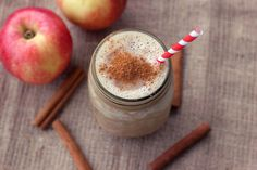 Apple Pie Smoothie – Gluten-free, Vegan   Refined Sugar-free