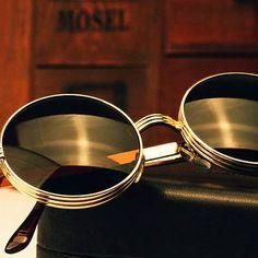 12bed9b2110 Fashion Vintage Round Glasses Sunglasses by RUSTIKOJewelrySuppli