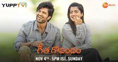 Watch Latest Telugu Movies Geetha Govindam and Agnyaathavaasi on YuppTV this Weekend Telugu Movies Download, Tv Channels, Indian, Usa, Watch, Live, Blog, Clock, Bracelet Watch