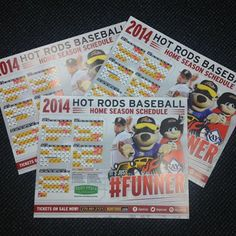 Poster schedules are in! Watch throughout next week for a chance to win one of your own! #FUNNER