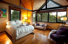 Mibremilla is a luxurious holiday home on acres of natural bushland, close to Eagle By. The perfect rural and coastal retreat sleeps 10 guests.