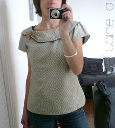 Patron New Look 6808 - blog Laine Dee