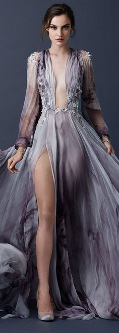 Paolo Sebastian Fall Winter 2015/16 Couture Collection | I'm in love with the color