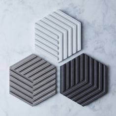 Concrete Decor Pieces For Home - Cement Accessory Trend The Coolest Material to Start Decorating Wit Concrete Crafts, Concrete Tiles, Concrete Projects, Concrete Design, Concrete Countertops, Tile Design, Concrete Texture, Concrete Furniture, Concrete Interiors