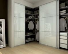 20 Best and Modern Closet Design For Your Beautiful Home – DECORATHING You are in the right place about metal closet doors Here we offer you the most beautiful pictures about the shiplap closet doors Bedroom Closet Doors Sliding, Modern Closet Doors, Folding Closet Doors, Glass Closet Doors, Bedroom Closet Storage, Bedroom Wardrobe, Sliding Doors, Wardrobe Storage, Storage Closets