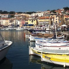 Casis in France. Everyone needs to go there and take a boat ride it's beautiful!!!!!
