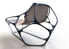 Featuring parametric and computational architecture and design Funky Furniture, Unique Furniture, Contemporary Furniture, Luxury Furniture, Furniture Design, Beton Design, Parametric Design, Parametric Architecture, Architecture Diagrams