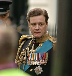 "Colin Firth in ""The Kings Speech"".The story of King George VI of the United Kingdom of Great Britain and Northern Ireland, his impromptu ascension to the throne and the speech therapist who helped the unsure monarch become worthy of it. Colin Firth Mr Darcy, Colin Firth Film, George Vi, Movie Shots, I Movie, Old Hollywood Actors, King's Speech, Best Wedding Speeches, Love Film"