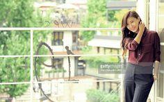 Han Ji Won Tersenyum