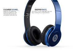 Original Beats by Dr. Dre Solo - BLUE