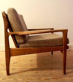 Superb Super Rare Narvik Fred Lowen Dutch Australian Armchair