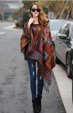 Horse Racing. /'Natasha/' Bold Stripe Ladies/' Wrap Shawl Wrap  Blue or Rust Red