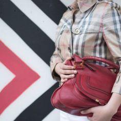 In Burberry Jacke 7 all mankind Jeans Chloé Tasche und diy Dior Lookalikes zum Sonntagsbrunch mit der Familie