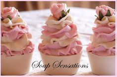 BLOGS OF SOAP: les soap cupcakes , cakes, soap flower : how to ? Les savons gateaux, les fleurs de savons , comment les faire ?