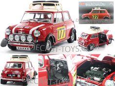 Model of the 1967 Monte Carlo rally winning No 177