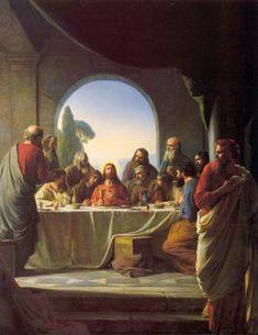 LDS Seasonal Materials: Maundy Thursday - the events of Thursday including the last supper and the garden of Gethsemane