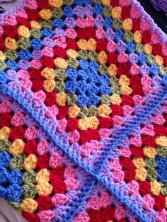 finish my dad's marine blanket I started crocheting....last year...