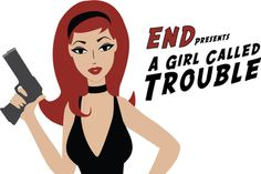 """Animated Music Video for the song """"A Girl Called Trouble"""" by the band End. A loving tribute to dozens of classic, cult, and grindhouse movie posters, from """"Dirty Harry"""" to """"Faster Pussycat Kill Kill"""" to more obscure stops in between."""