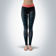 43a826f2f9 Big Data Fractal | Womens Yoga Pants - CovertSubvert Beautiful Yoga, Big  Data, Yoga