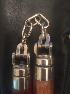 A personal favorite from my Etsy shop https://www.etsy.com/listing/455058932/rare-vintage-dolan-nunchaku-nunchucks