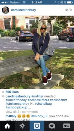 Fall outfit. Caroline Stanbury.
