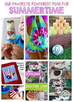The best summer pins for kids!!  #3 is a must pin!
