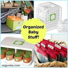 Organized Baby Stuff with these terrific products!