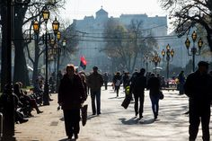 https://flic.kr/p/Na3oxp | Morning in Ukraine. This Year. | Svobody Ave., Lviv, Ukraine.   Russian military intervention in Ukraine (2014-present) en.wikipedia.org/wiki/Russian_military_intervention_in_Uk...