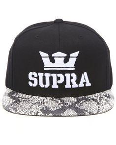 81c929b2d7c Supra x Above Starter Snapback Cap  HAT Caps Game