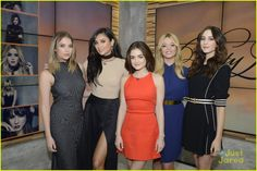 The 'Pretty Little Liars' Cast in NYC on 'Good Morning America'
